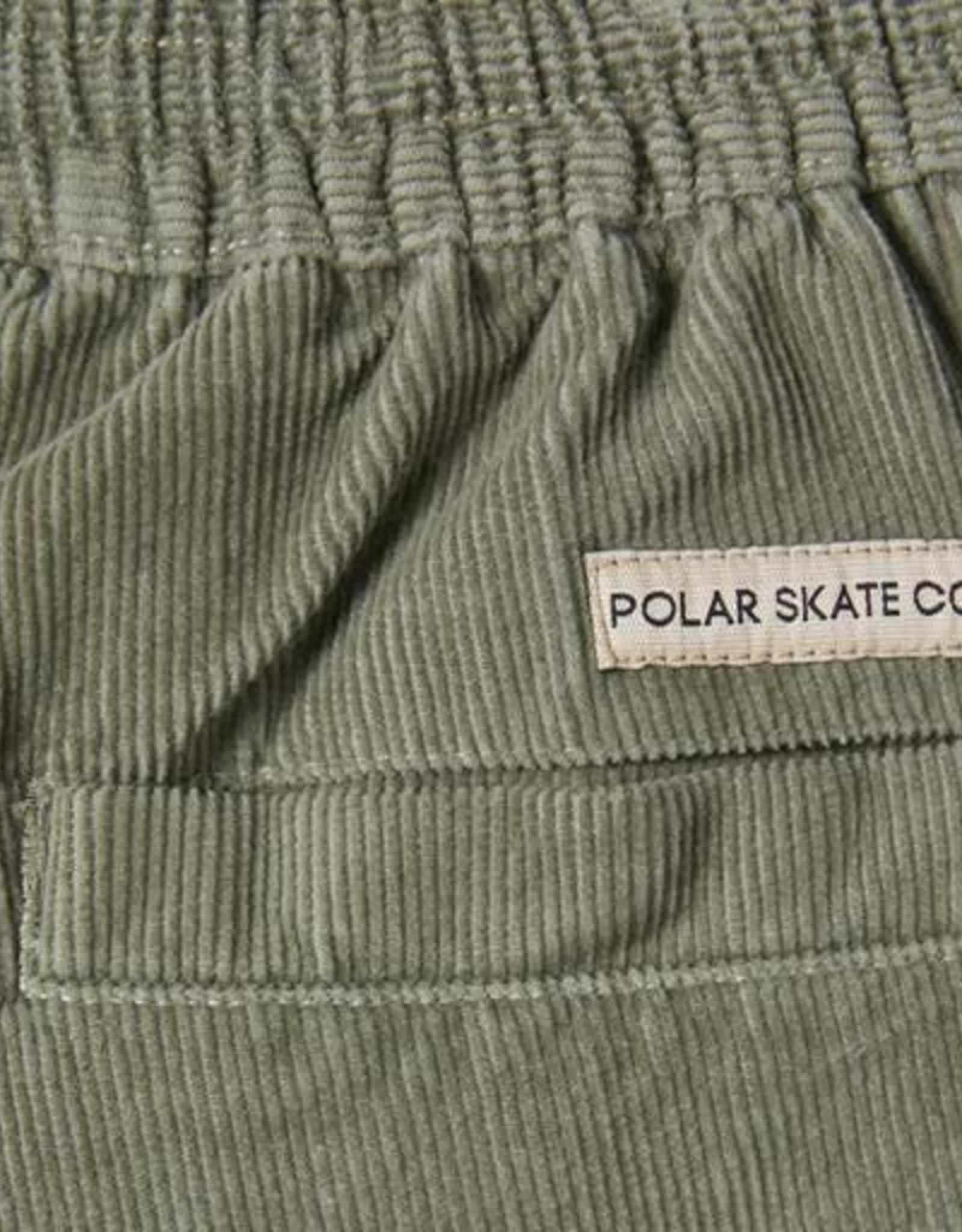 POLAR CORDUROY SURF PANT - SMOKE