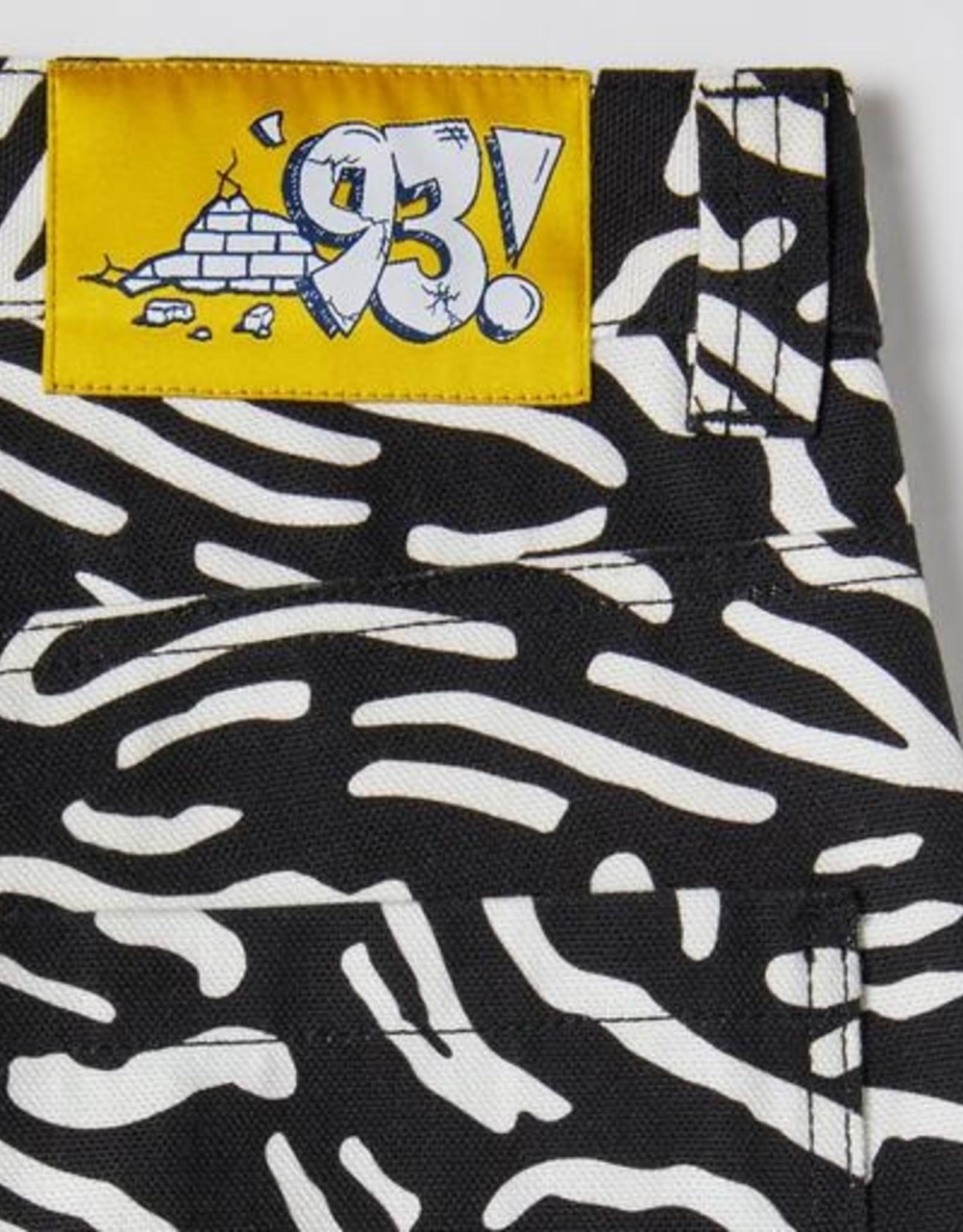 POLAR '93 CANVAS CELL PANT - BLACK