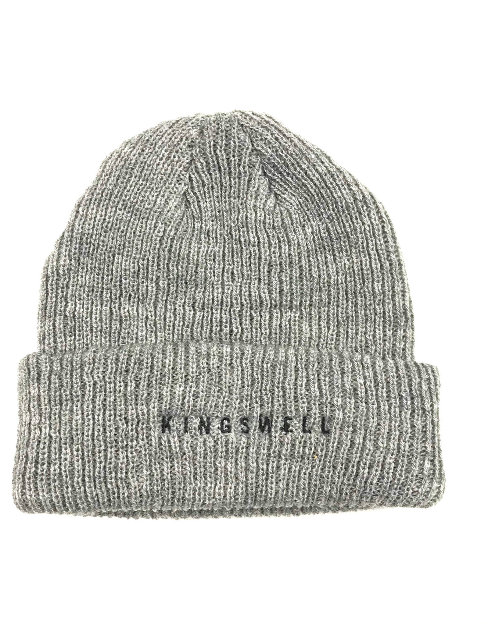 KINGSWELL KINGSWELL BEANIE EMBROIDERED - GREY