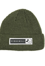 KINGSWELL KINGSWELL MOUSE BEANIE - OLIVE