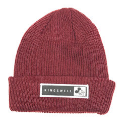 KINGSWELL KINGSWELL MOUSE BEANIE - MAROON