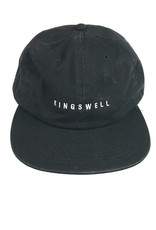 KINGSWELL KINGSWELL LOGO HAT - BLACK