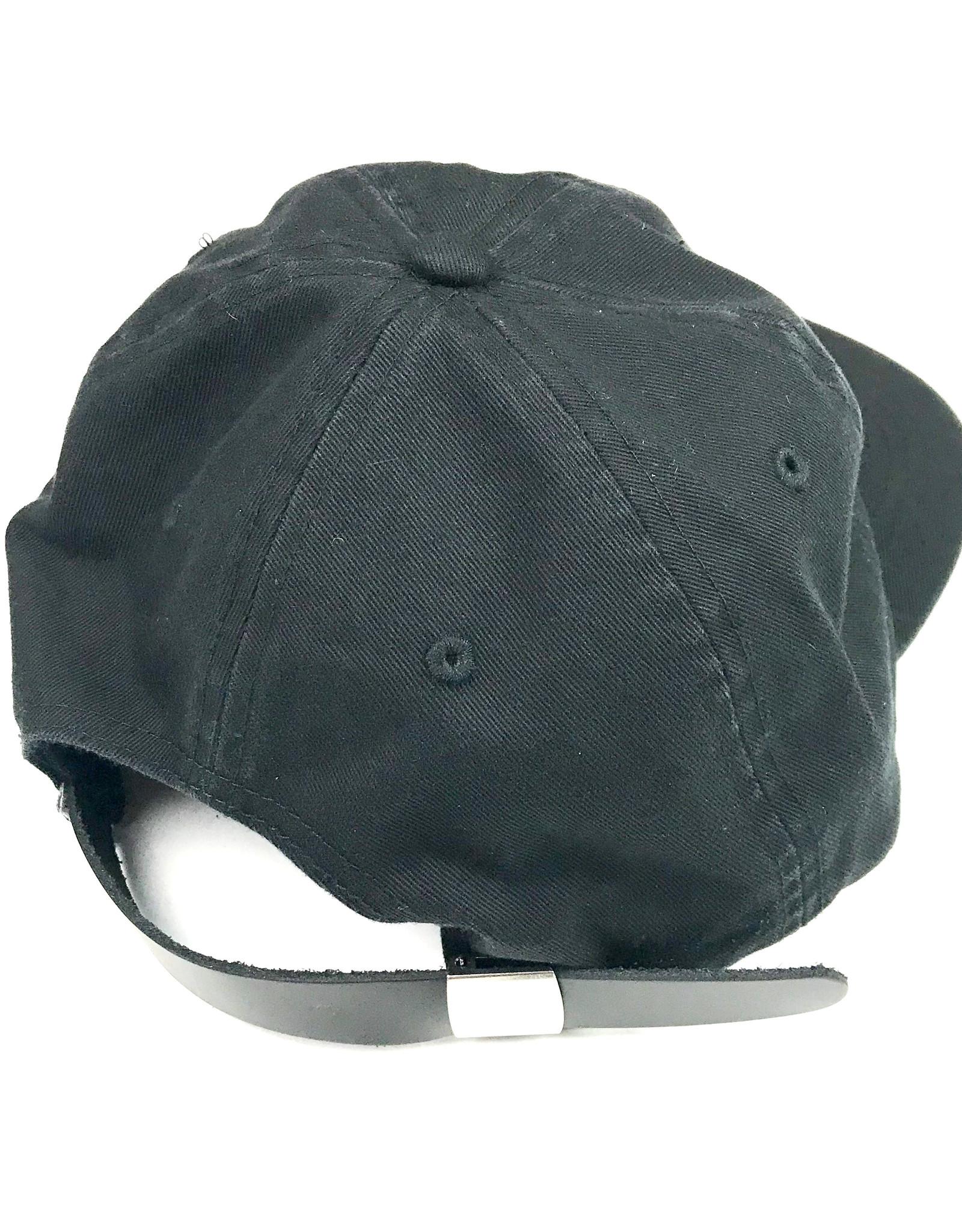 KINGSWELL KINGSWELL LOGO HAT - BLACK