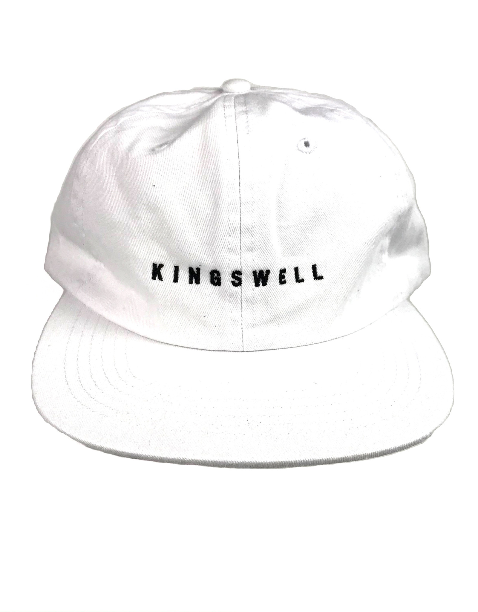 KINGSWELL KINGSWELL LOGO HAT - WHITE