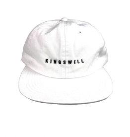 KINGSWELL KINGSWELL LOGO HAT - WHITE