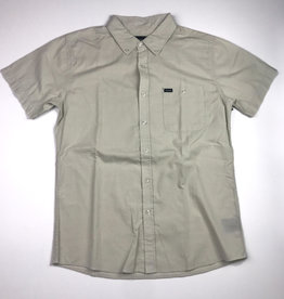 BRIXTON BRIXTON CENTRAL S/S BUTTON - LIGHT GREEN