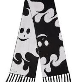 POLAR SUN SCARF - WHITE/BLACK