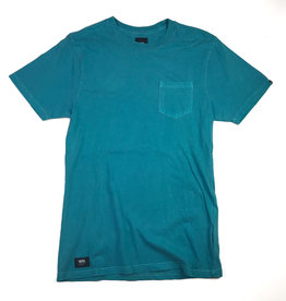 VANS VANS WASHED EVERDAY POCKET TEE - QUETZAL
