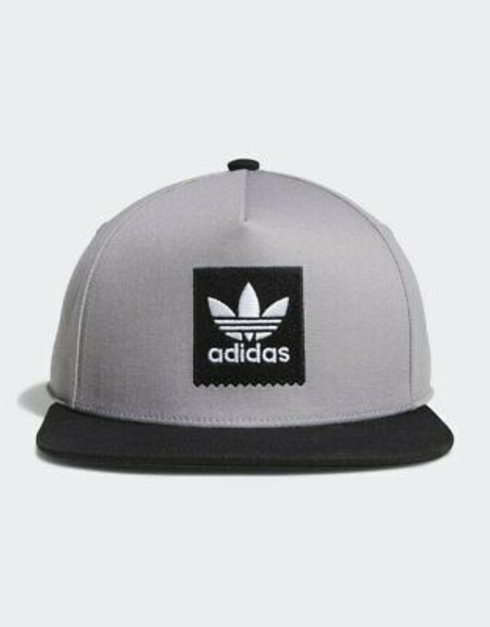 ADIDAS ADIDAS 2TONE SNAPBACK HAT - GREY/BLACK