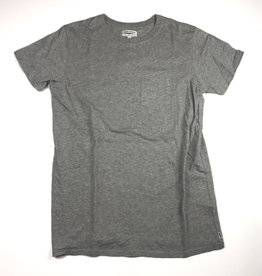 BANKS JOURNAL BANKS PRIMARY FADED TEE - HEATHER GREY