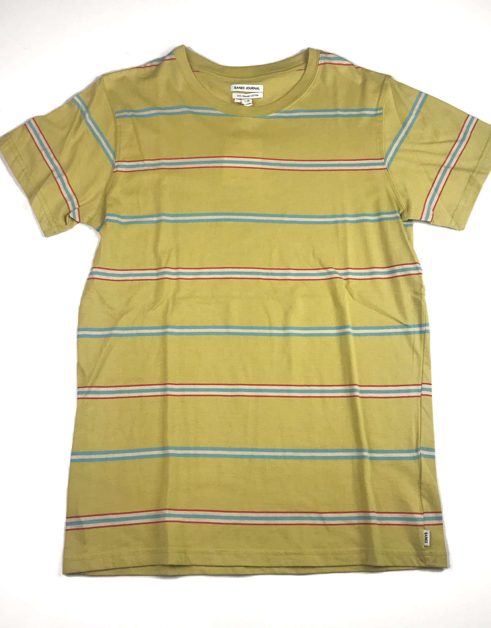 BANKS JOURNAL BANKS CUBA DELUXE TEE - LEMON