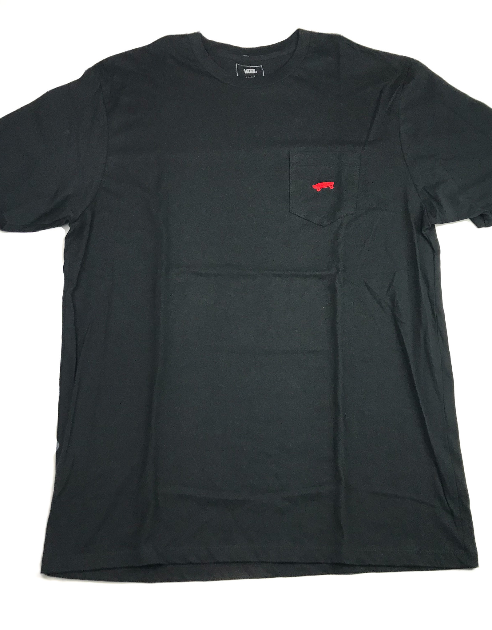 VANS VANS EVERYDAY POCKET TEE - BLACK