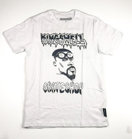 KINGSWELL KINGSWELL LOTTIE SHOP COLLECTIVE TEE - WHITE
