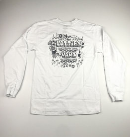 VANS VANS X LOTTIES L/S TEE - WHITE