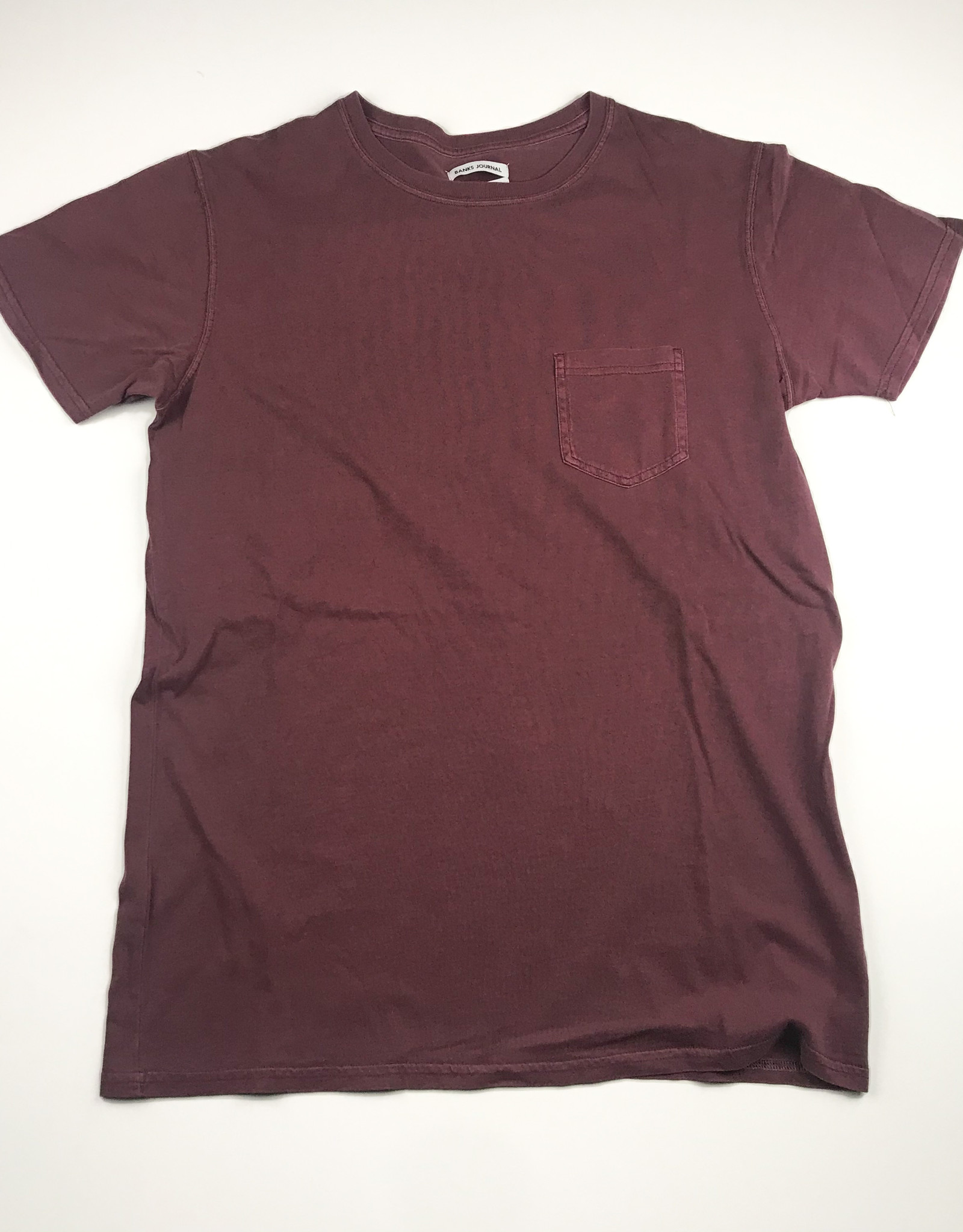 BANKS JOURNAL BANKS PRIMARY FADED TEE - PLUM