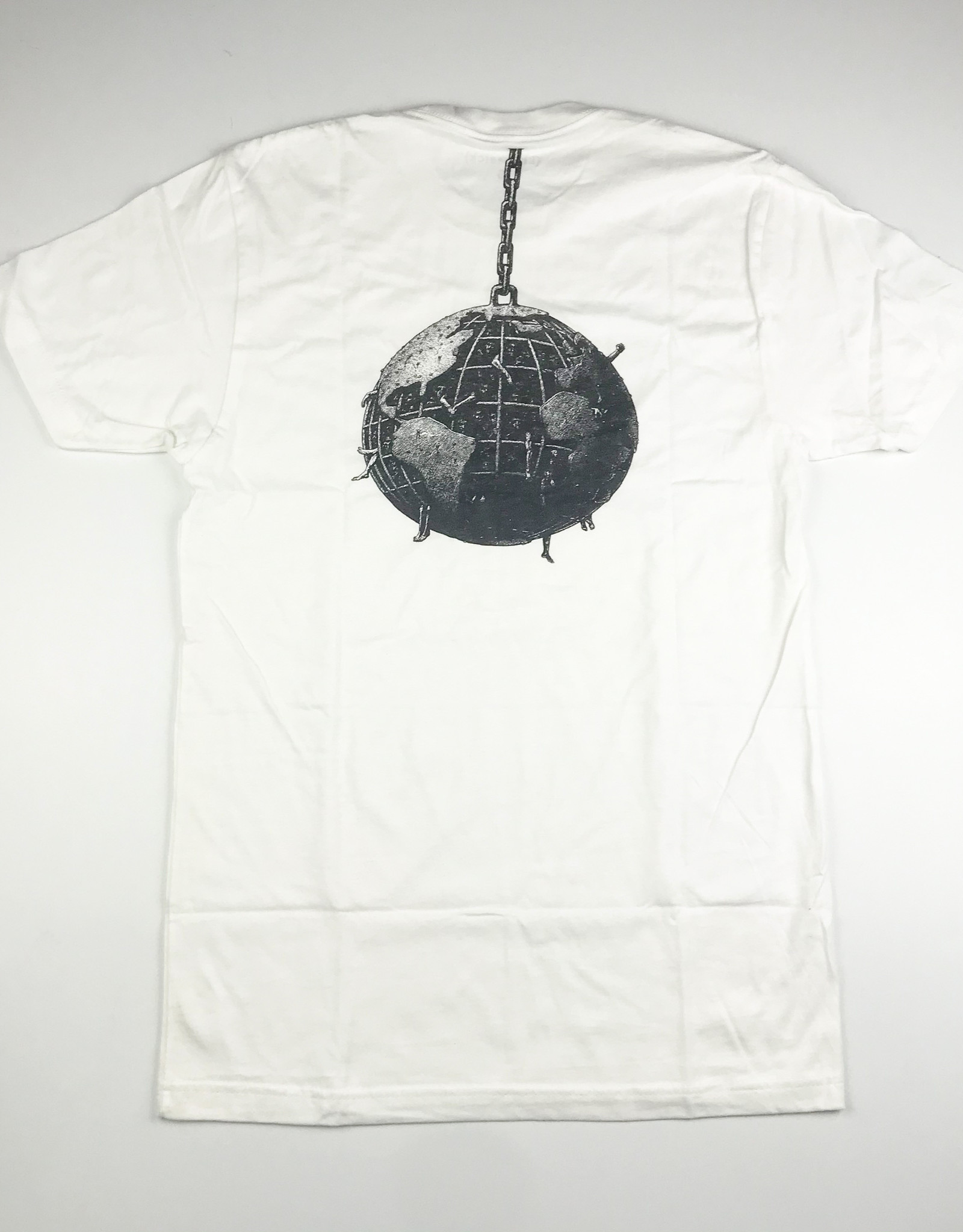 LOVESICK LOVESICK BALL AND CHAIN TEE - WHITE
