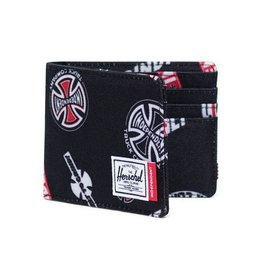 HERSCHEL HERSCHEL ROY WALLET - INDEPENDENT BLACK MULTI