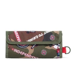 HERSCHEL HERSCHEL SMITH WALLET - INDEPENDENT WOODLAND CAMO