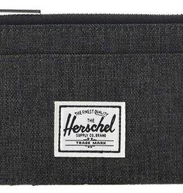 HERSCHEL HERSCHEL OSCAR WALLET - BLACK X
