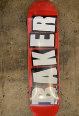 BAKER BRAND LOGO WHITE MINI DECK - 7.3