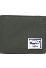 HERSCHEL HERSCHEL HANK WALLET - DARK OLIVE