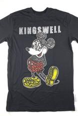 KINGSWELL KINGSWELL MICKEY EYE S/S TEE - BLACK