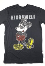 KINGSWELL KINGSWELL MOUSE EYE S/S TEE - BLACK