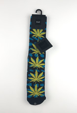 HUF WARPED DOTS PLANTLIFE SOCK - MARINA