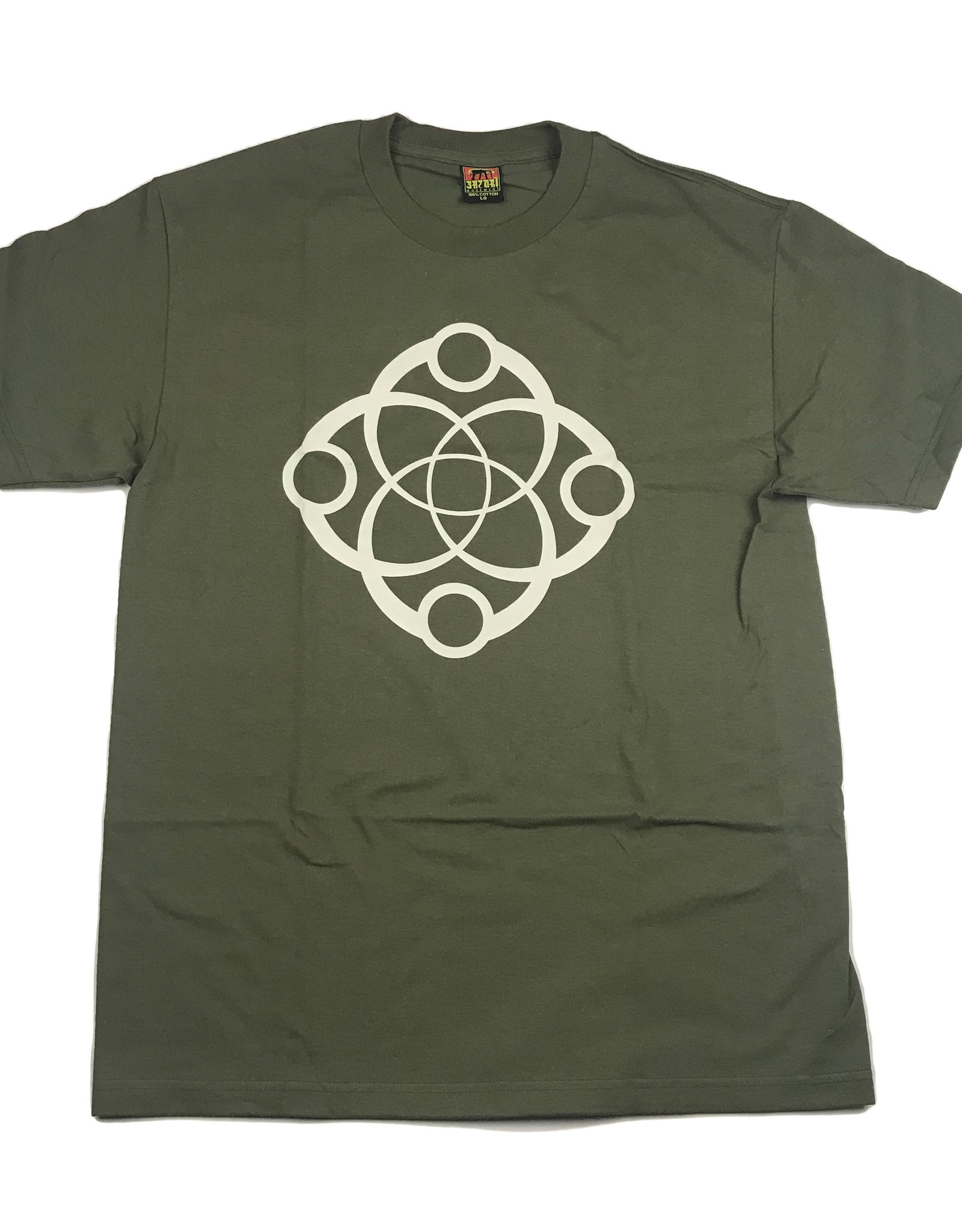 SATORI MOVEMENT SATORI BIG LINK S/S TEE LARGE - MILITARY GREEN