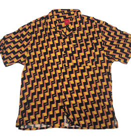 WKND ROMEO S/S BUTTON UP - YELLOW/RED
