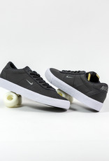 NIKE NIKE SB ZOOM BRUIN ISO - (ORANGE LABEL)  BLACK/DARK GREY