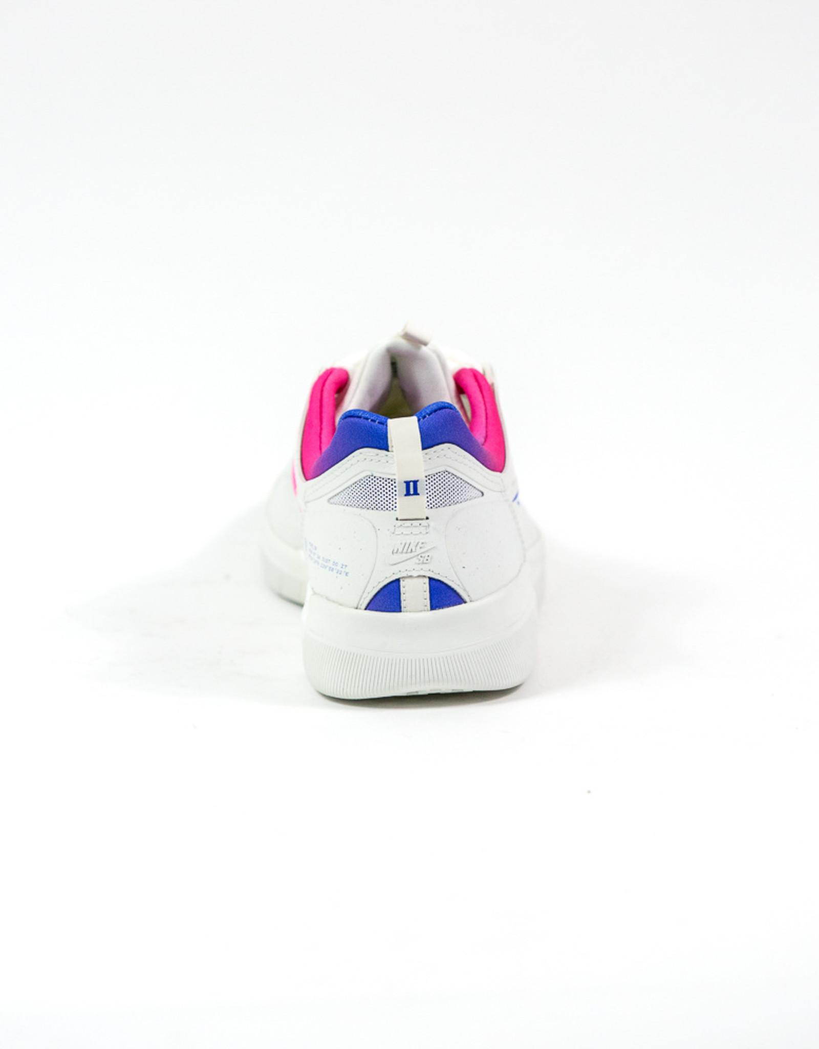 NIKE NIKE SB NYJAH FREE 2.0 T - SUMMIT WHITE/RACER BLUE