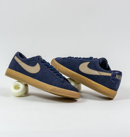 NIKE NIKE SB ZOOM BLAZER LOW GT - MIDNIGHT NAVY/KHAKI