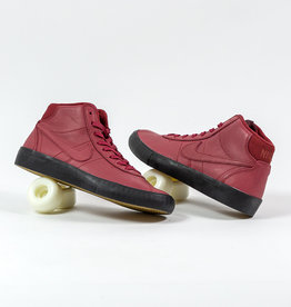 NIKE NIKE SB BRUIN HI ISO - (ORANGE LABEL) TEAM RED/NIGHT MAROON