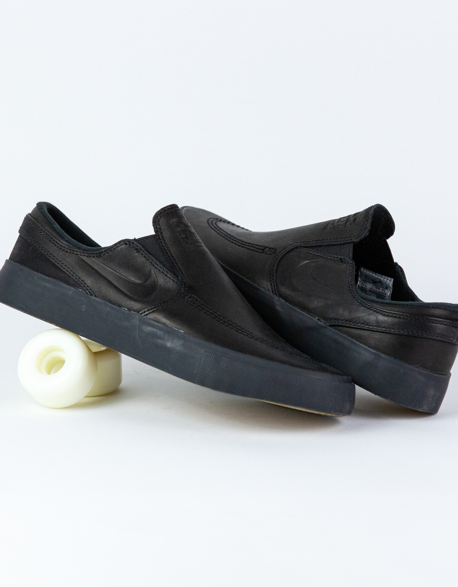 NIKE NIKE SB JANOSKI SLIP RM ISO - (ORANGE LABEL) BLACK/BLACK