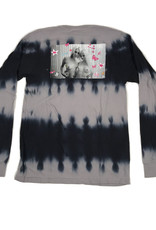 HUF KEI GIRLS WASH L/S TEE - BLACK