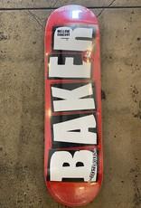 BAKER BRAND LOGO WHITE DECK - 8.5