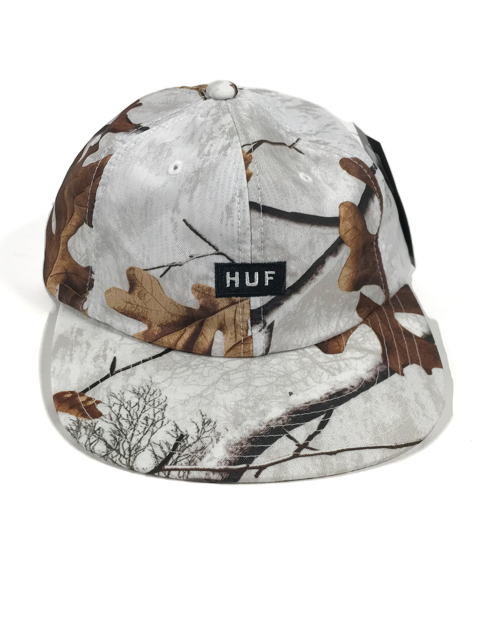 HUF REAL TREE 6 PANEL HAT - REAL TREE WHITE
