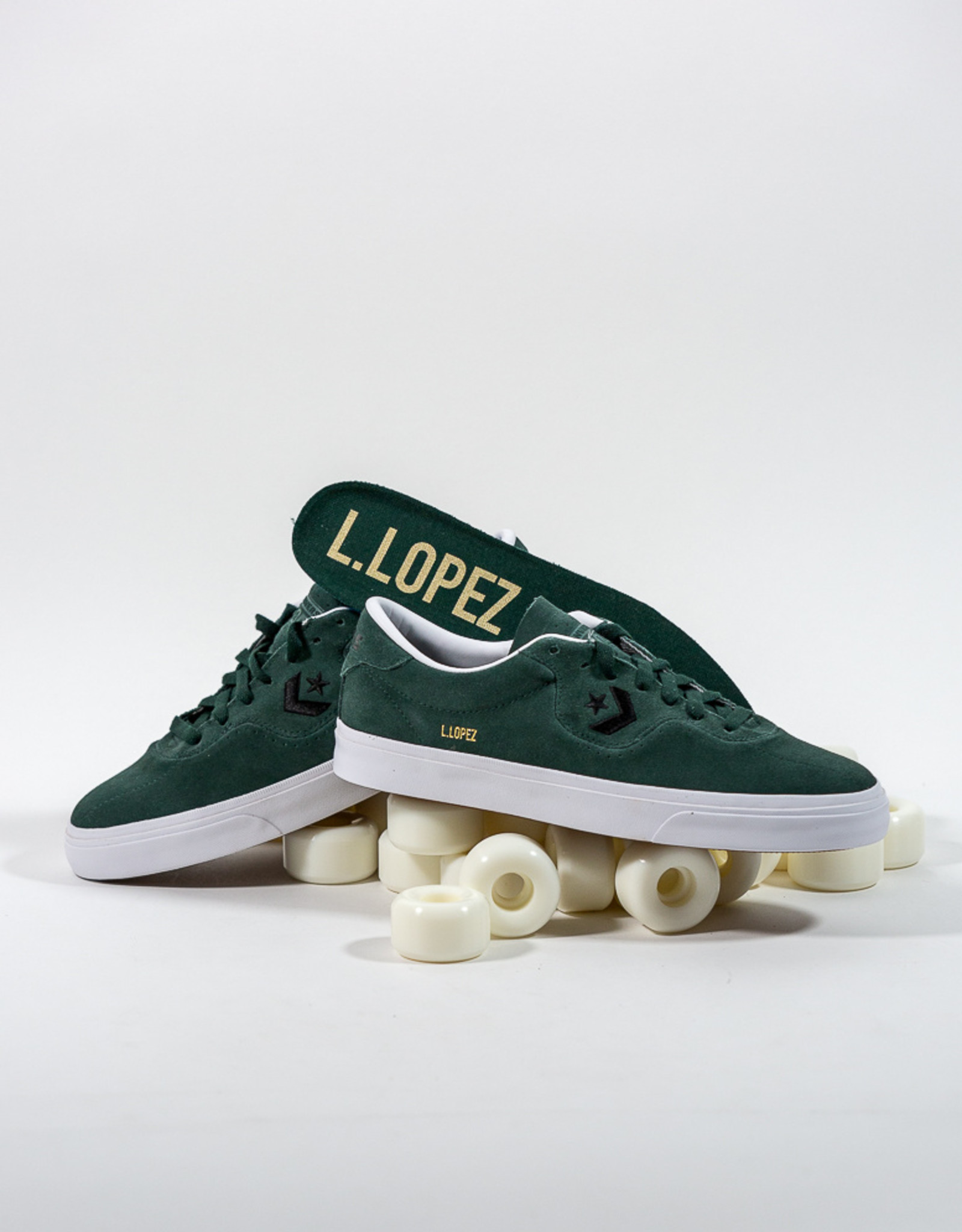 CONVERSE CONVERSE CONS LOUIE LOPEZ PRO OX - DEEP EMERALD/BLACK/WHITE
