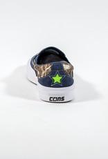 CONVERSE CONVERSE CONS ONE STAR CC SLIP PRO - OBSIDIAN/BROWN