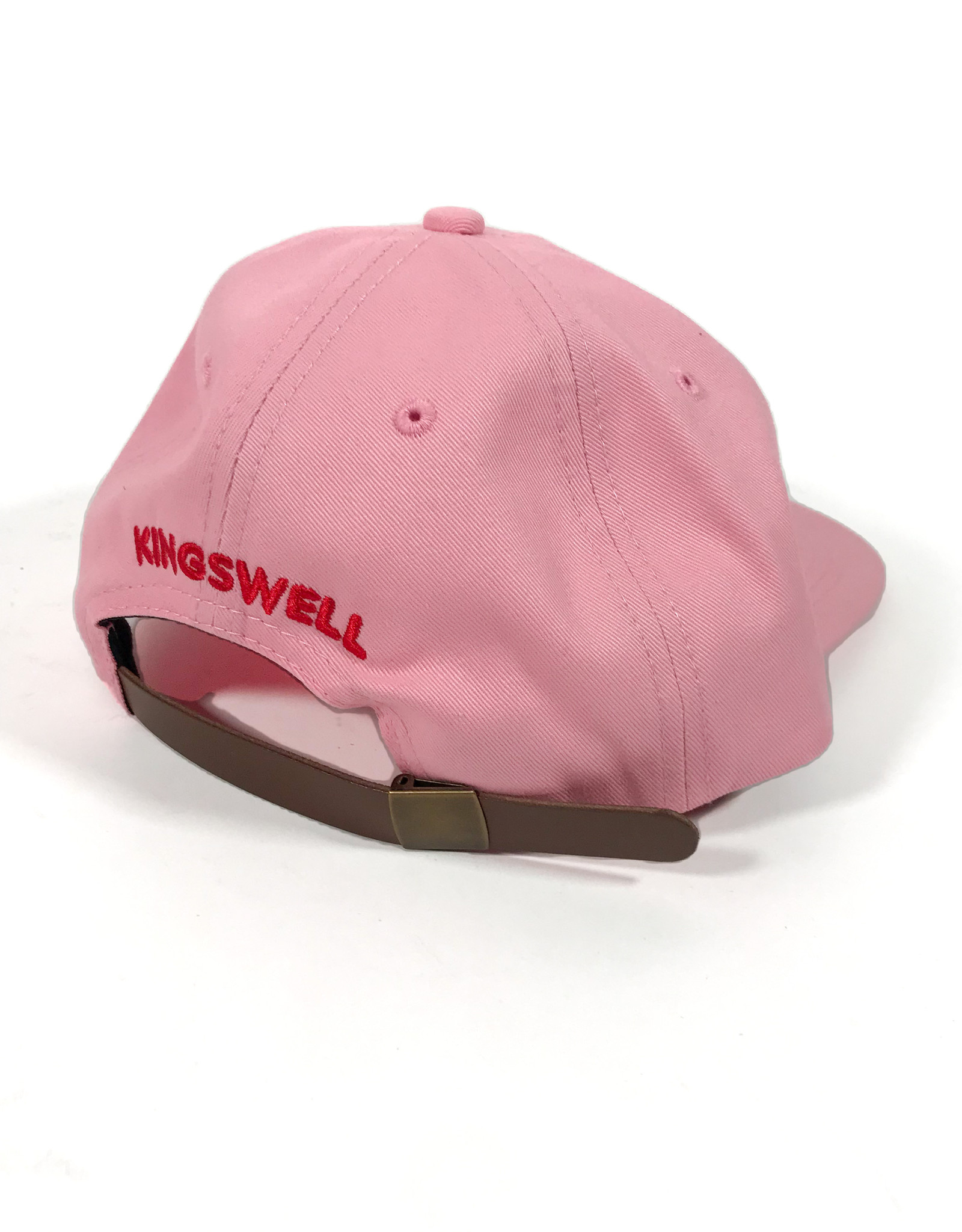 KINGSWELL KINGSWELL MOUSE RIPPER 6 PANEL HAT - PINK