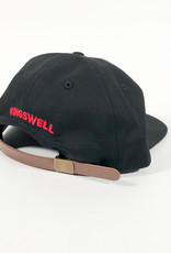 KINGSWELL KINGSWELL MOUSE RIPPER 6 PANEL HAT - BLACK