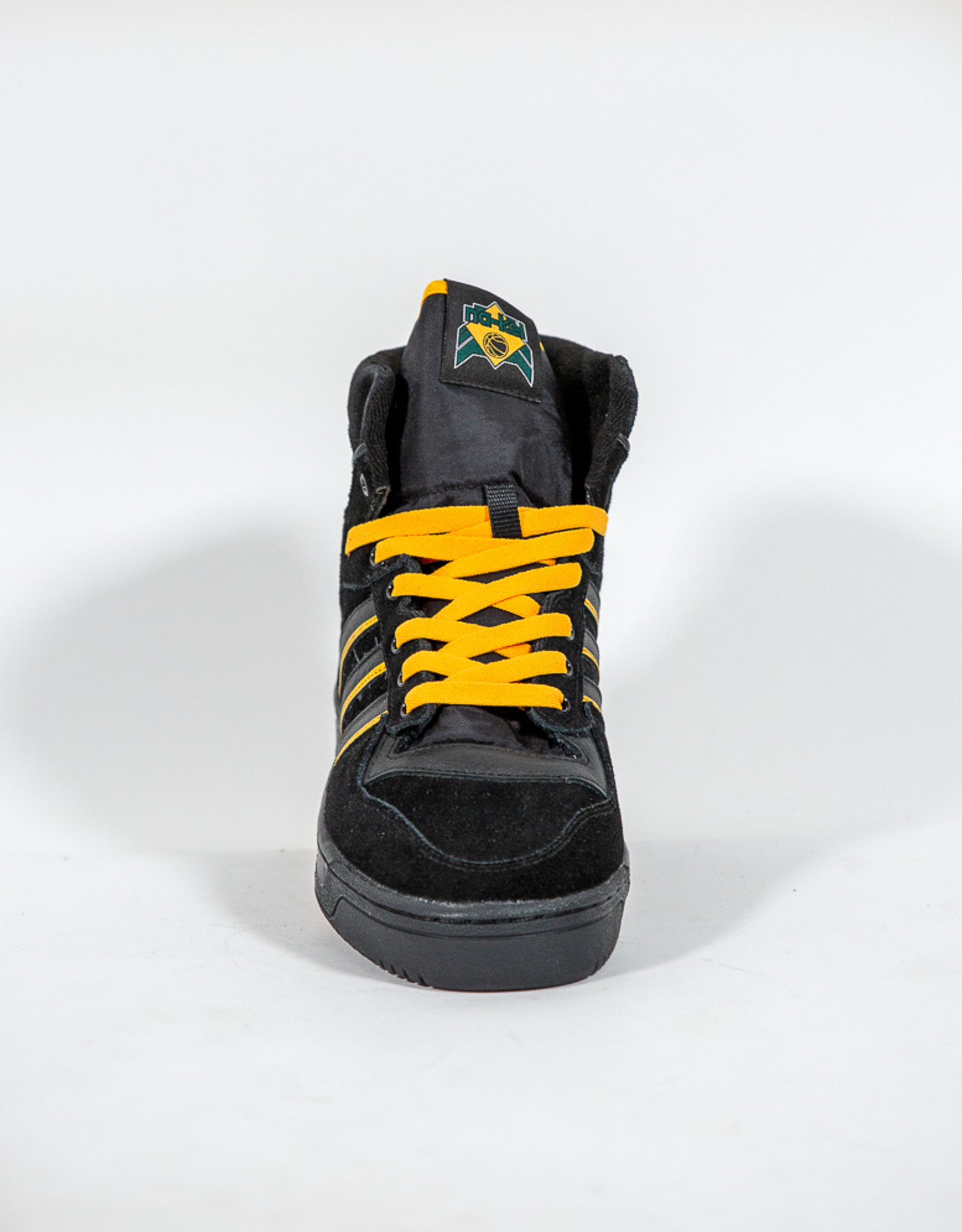 ADIDAS ADIDAS RIVALRY HI OG X NA-KEL - CORE BLACK/GOLD/GREEN