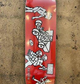 POLAR SKATE CO. NICK BOSERIO CASH IS QUEEN - RED  1991- 9.25