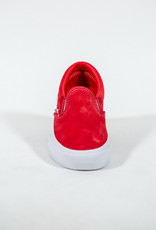 VANS VANS SLIP ON PRO - RED/WHITE SUEDE