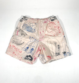 ADIDAS ADIDAS UNITY (GENDER NEUTRAL) SHORT - ECRU TINT/MUTICOLOR