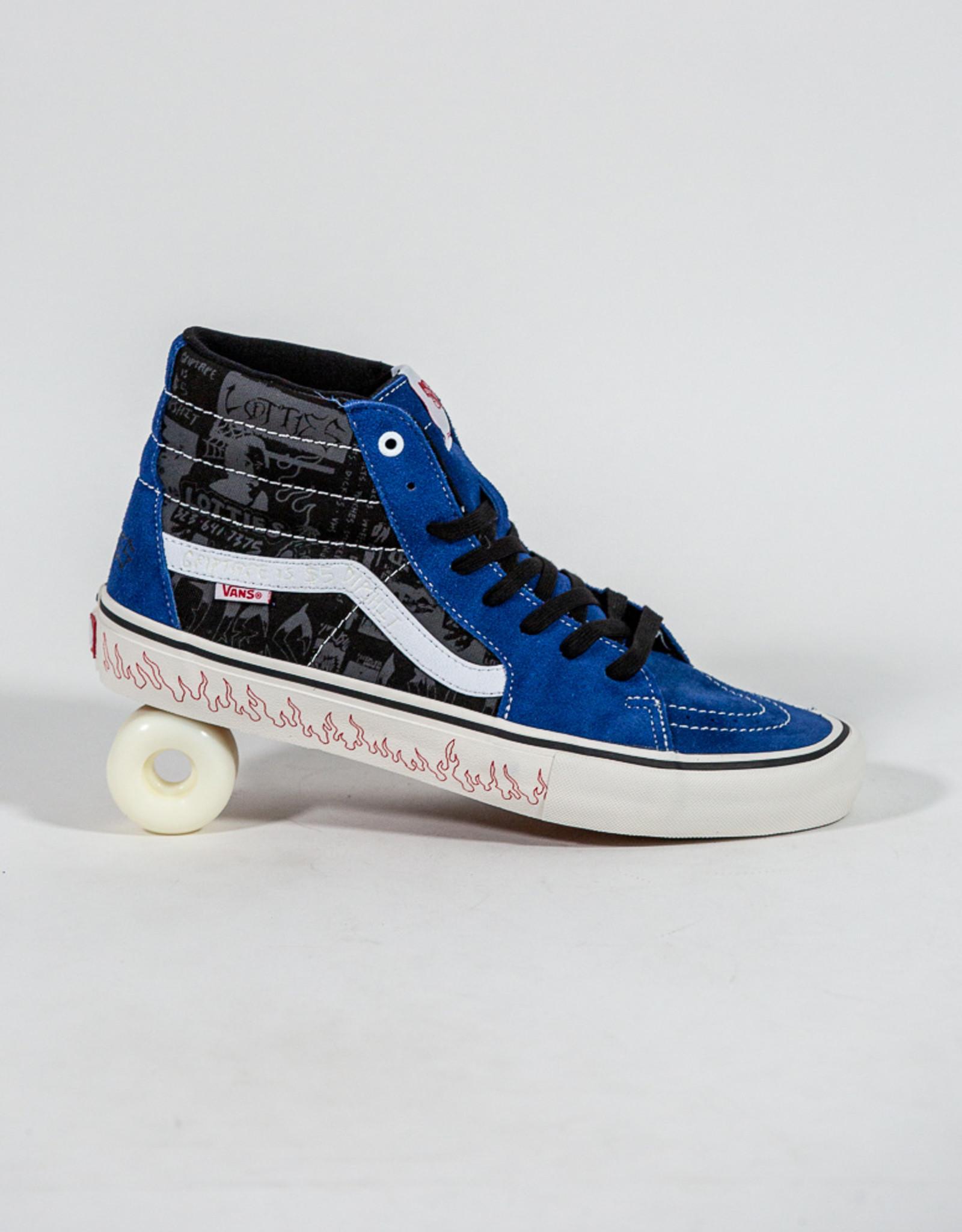 VANS VANS SK8-HI PRO LTD - (LOTTIES) BLUE/BLACK