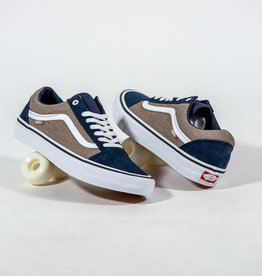 VANS VANS OLD SKOOL PRO - (TWILL) DRESS BLUES/PORTABELLA