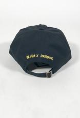 BRIXTON BRIXTON STRUMMER LP STRAPBACK HAT - BLACK