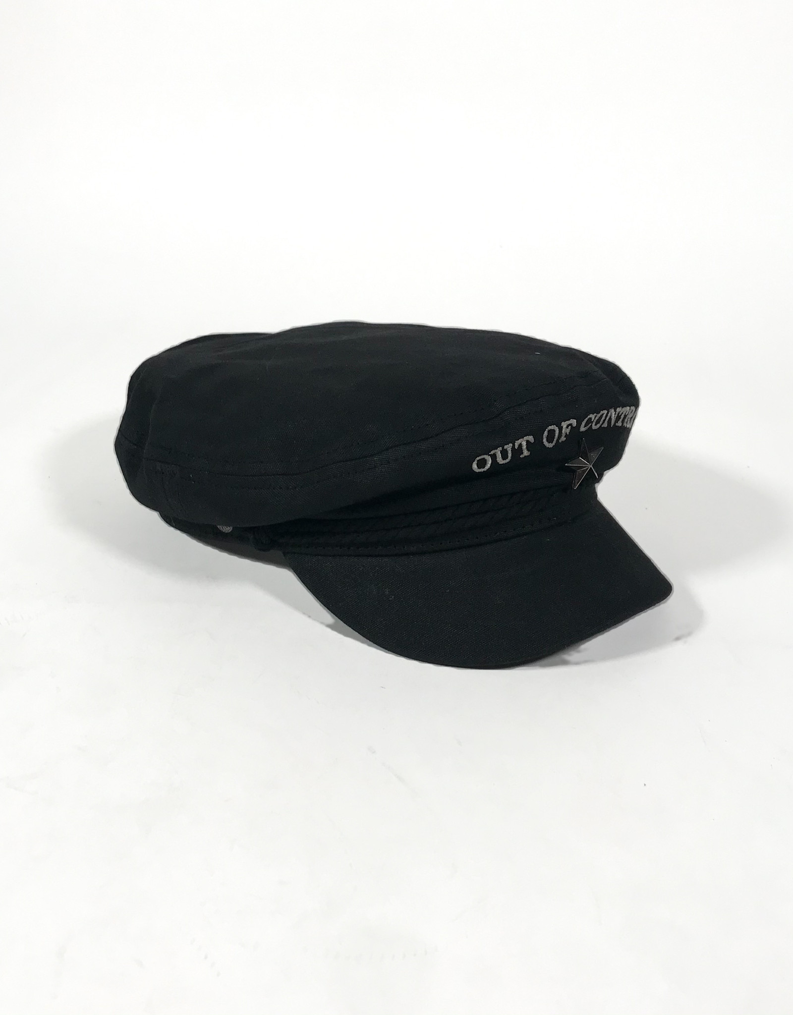 BRIXTON BRIXTON STRUMMER FIDDLER CAP MEDIUM - BLACK